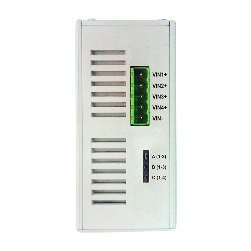 4 port Gigabit PoE Injector with Up to 4 Individual Output Voltage and 1A Per Port