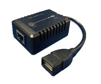 Mini Size 802 3af Poe Splitter With Dc5v 3a 15w Usb Output