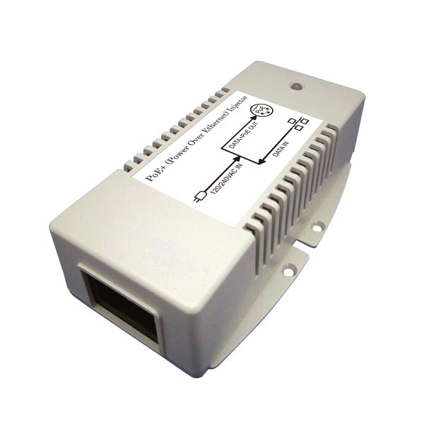 Gigabit PoE Injector with 56V/50W Output, Transforms AC Power to 56V DC Power